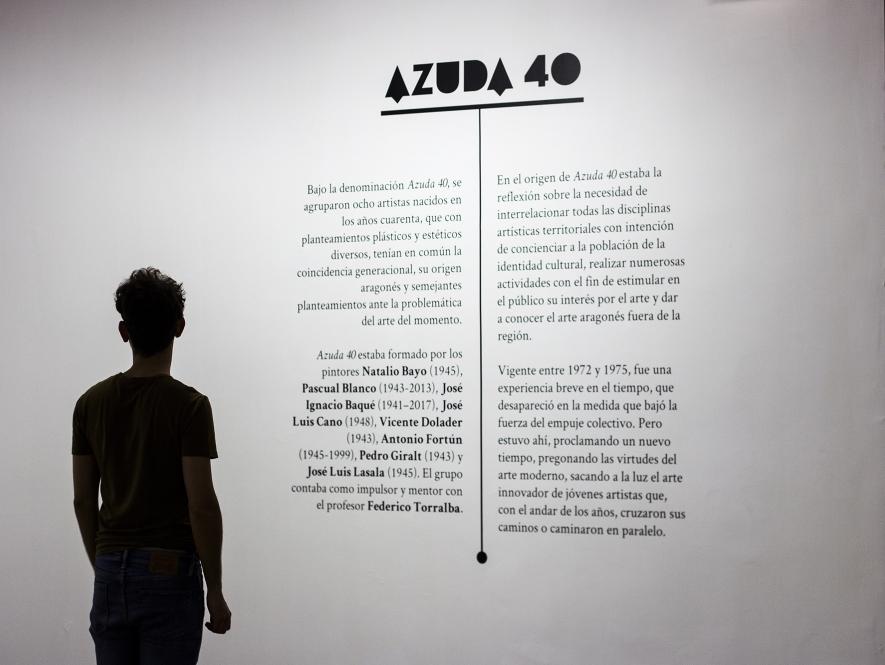 Diseño exposisitivo y editorial. Azuda 40