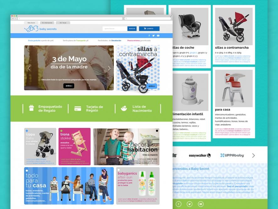 Tienda online de artículos para bebé