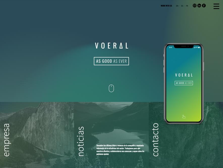 VOERAL. Naming, branding, diseño editorial y dirección de arte audiovisual